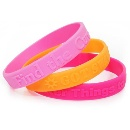 Cheap Price Reflective Silicone Bracelets (China)