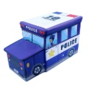 Police Car Toys Storage Stool (Hong Kong)