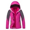 Women's Winter Hooded Waterproof 3 in 1 Mix Color (China)