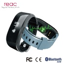 Smart Wristband Fitness Tracker With HR Heart Rate Monitor Silicon Bracelet Bluetooth Pedometer (Hong Kong)