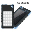 Dual USB Solar Cell Phone Charge with Flashlight (China)