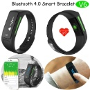 Heart Rate Smart Bracelet with Bluetooth 4.0 (China)