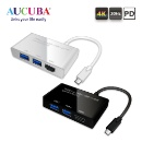 Type C to HDMI / USB 3.0 2 Port Hub Converter (PD) (Taiwan)