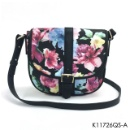 Floral Print Cross Body Bag (Hong Kong)