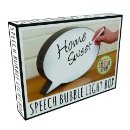 Speech Bubble Light Box (United Kingdom)