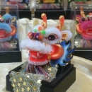 Dragon Dance Ornament with Magnet (Hong Kong)