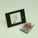 Glass Flat Light with Microwave Sensor & Remote Control (China)