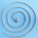 Solid Sterling Silver 30 Italy Chopin Chain (China)