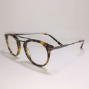 Vintage Acetate & Metal Combination Optical Eyewear Frame (Hong Kong)