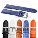 22mm Geunine Leather Blue Band (Hong Kong)