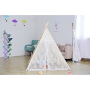 Indian Four Poles Lace Breathable Indoor Play Tent (China)