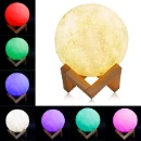 Wireless Control Colorful Moon LED Light (China)