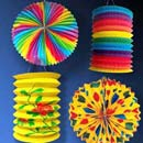 Festival decoration, festival lanterns paper lampion, party lantern (China)
