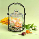 Storage Jar with Glass Lid (China)
