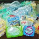 All kind of wet wipes, such as baby wipes, clean wipes, pet wipes, kitchen wipes, floor wipes etc.  (China)
