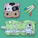 Cute Washable Coloring Book-Cow (China)