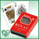 Royal Bridge Size 100% Plastic Playing Card  (Taiwan)