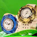 Quincunx Crystal Watch With Changeable Crystal Cases (China)