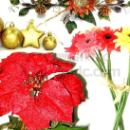 Artificial Polyester Flowers/Plants/Seasonal Decorations (Hong Kong)