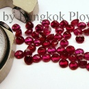Natural Burmese Ruby - Round shape  (Thailand)