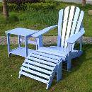 Adirondack Chair With Ottoman & Table (China)