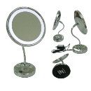 Desk Top LED Lighted Mirror with Battery Powered (Taiwan)
