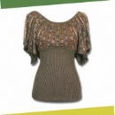 Ladies' Knitted Blouse (China)