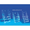 Acrylic Brochure display stand, leaflet holder (China)
