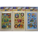 Disney Gem Sticker - Tigger & Pooh (Hong Kong)