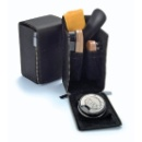 Travelling Leather Shoe Shine Set and Cleaning Kit (Hong Kong)