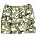 Faux Leather Short Skirt (China)