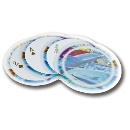 Circular Transparent Playing Cards (Taiwan)
