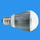 LED Bulb with E27 Base, 50,000 Hours Lifespan (China)