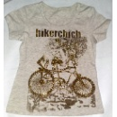 Bicycle Print T-shirt (Hong Kong)